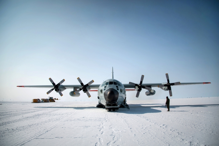 Climate change research in Greenland